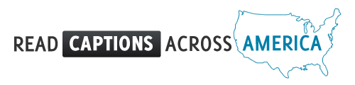 Captions Across America 2013 logo
